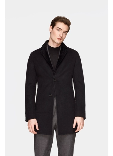 Damat Palto Siyah